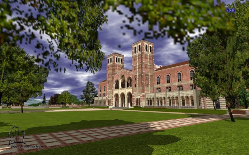 第三天   参观加州大学洛杉矶分校和盖蒂中心博物馆